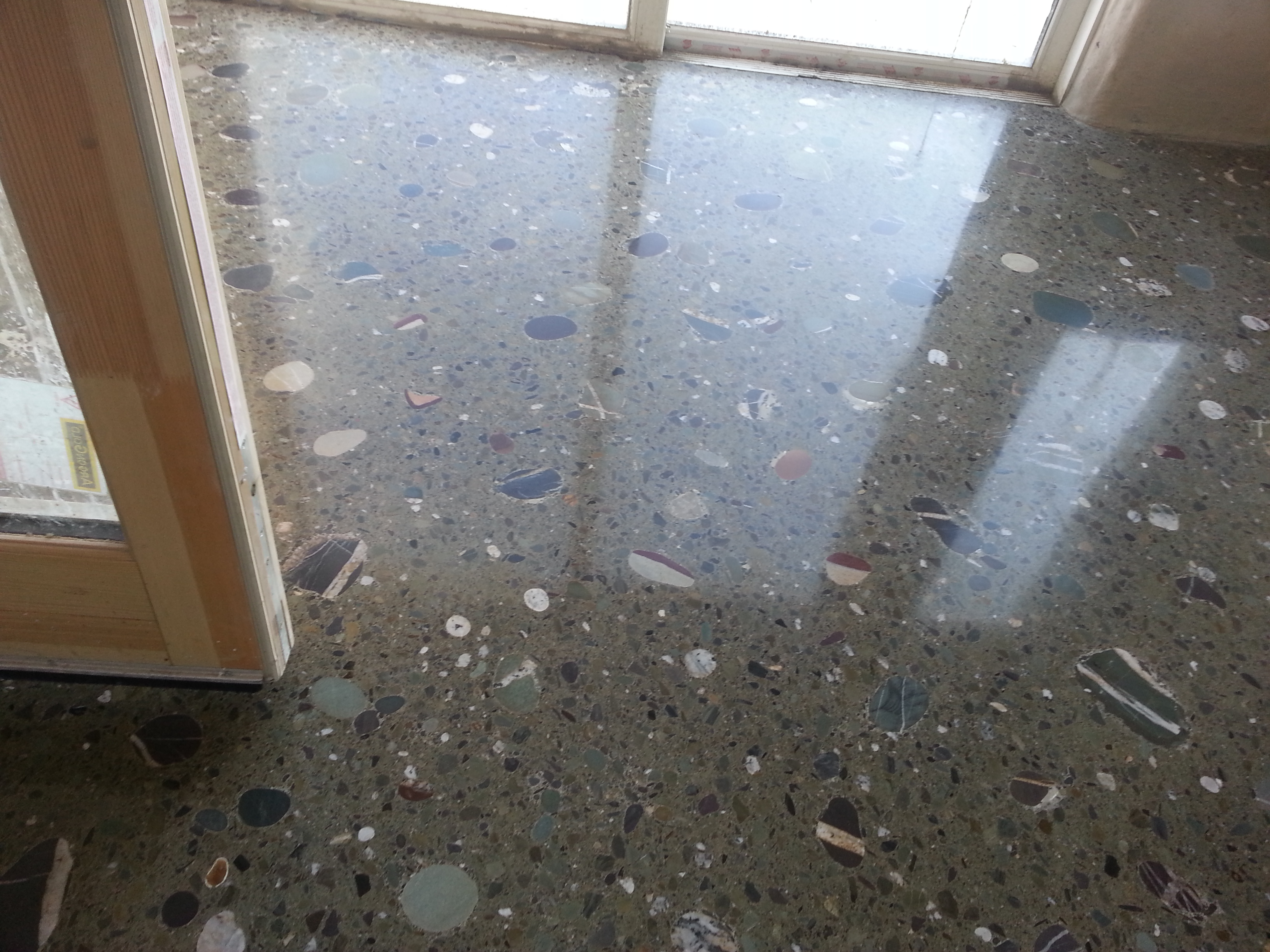 Domestic Polished Concrete Floor