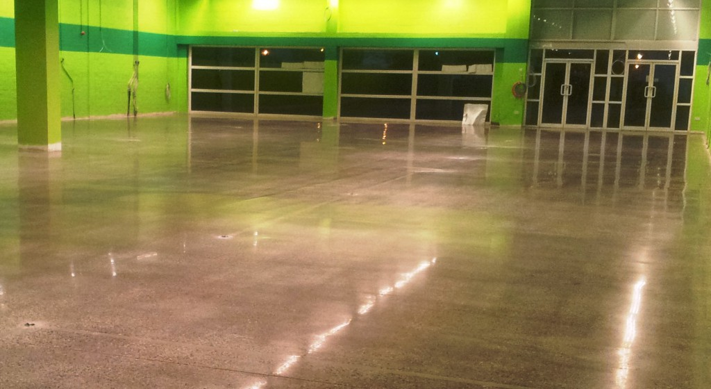 Commercial Unit - Polished Concrete Floor