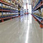 Commercial Unit Polished Concrete Floor